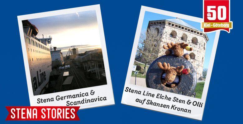 Stena Stories - Stena Line Eclhe auf dem Skansen Kronan