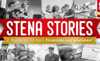 Stena Stories - 2. Runde bis 30. April: Einsenden und gewinnen