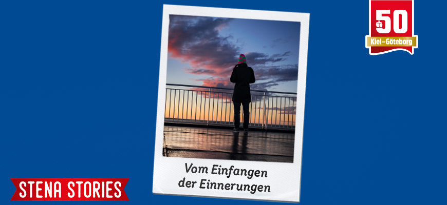 Stena Line - Beim Sonnenuntergang an Deck