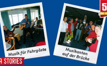 Stena Stories - Musikalische Unterhaltung und Brückenbesuch