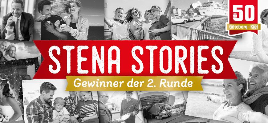 Stena Stories: Gewinner der zweiten Runde