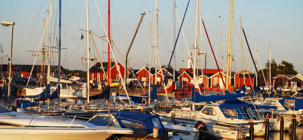 Hafen von Skanör