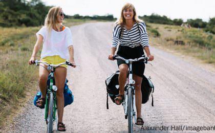 Radfahren in Südschweden