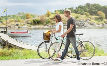 Fahrrad-Tour in und um Göteborg