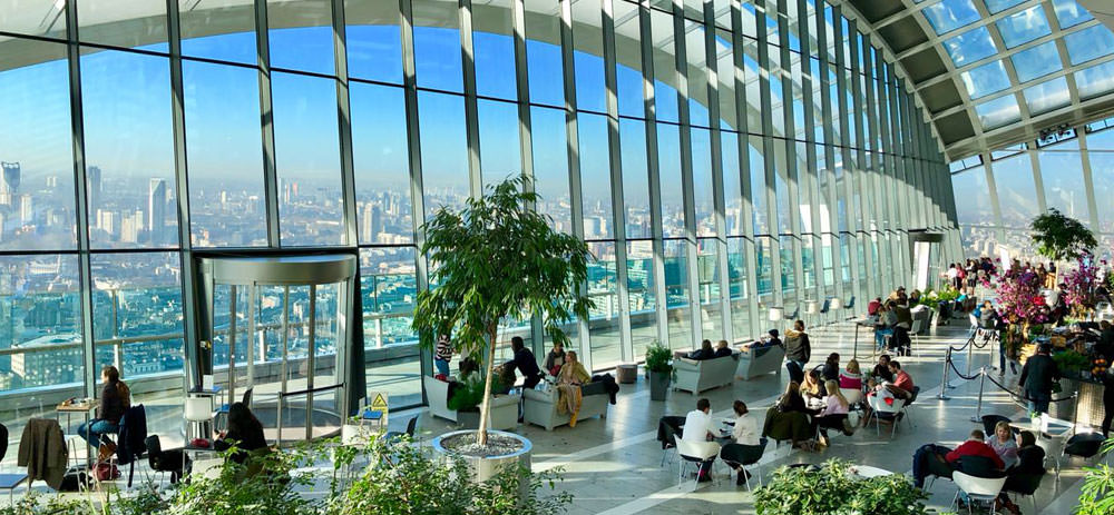 Sky Garden Glasfront