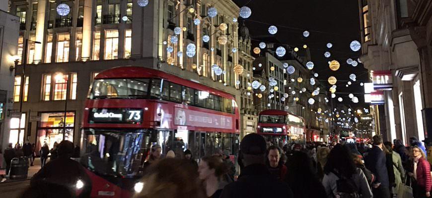London zur Weihnachtszeit